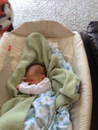 Side sleeper like her auntie.
