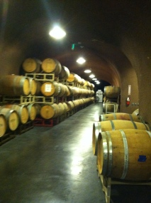 A wine cave? Yes please.