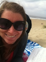 Spent some time on the beach just reading!