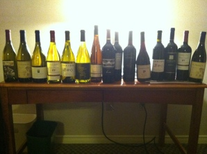 So, we came home with a lot of wine!